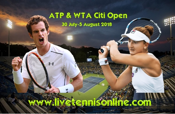 2018 Citi Open Live Stream