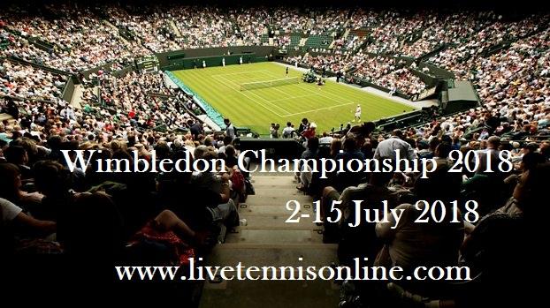2018 Wimbledon Tennis Live Steam
