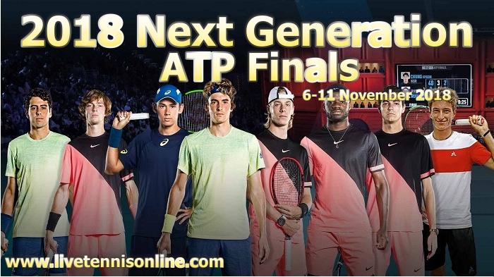 2018 Next Generation ATP Finals Live