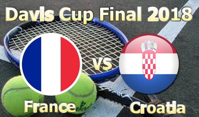 France vs Croatia Davis Cup Final 2018 Live