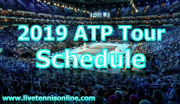 Tennis ATP 2019 Tournament Schedule