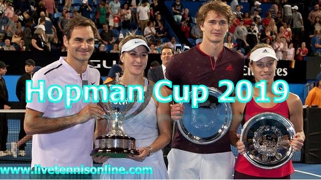 Tennis Hopman Cup 2019