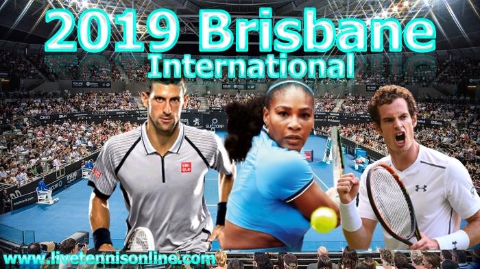 2019 Brisbane International in Australia
