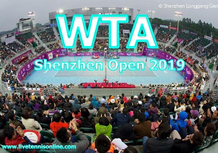 WTA Shenzhen Open 2019 Tennis