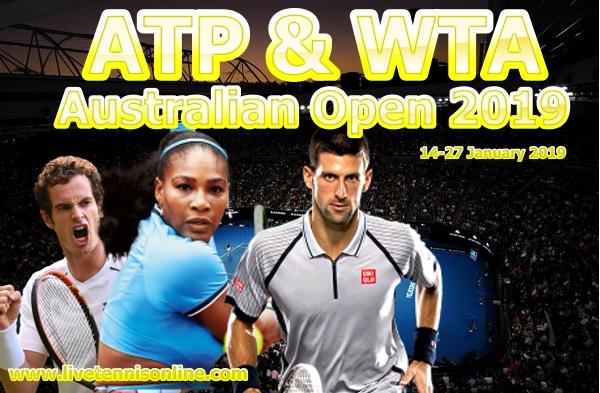 Grand Slam Australian Open Tennis 2019
