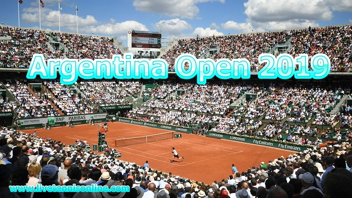 Live Tennis Argentina Open 2019