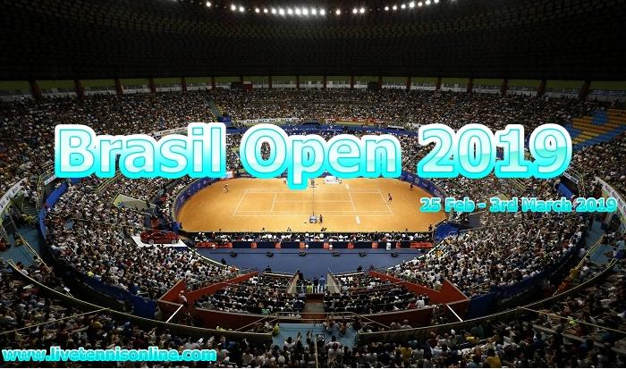Brasil Open 2019 Tennis Live Stream