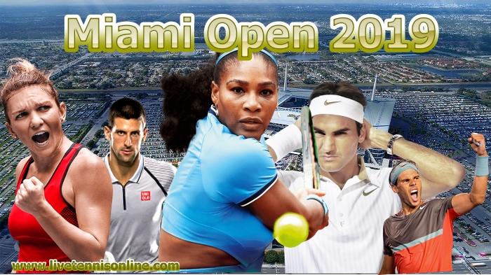 Miami Open Tennis Live Stream