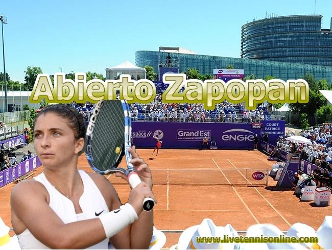 Abierto Zapopan Tennis Live Stream