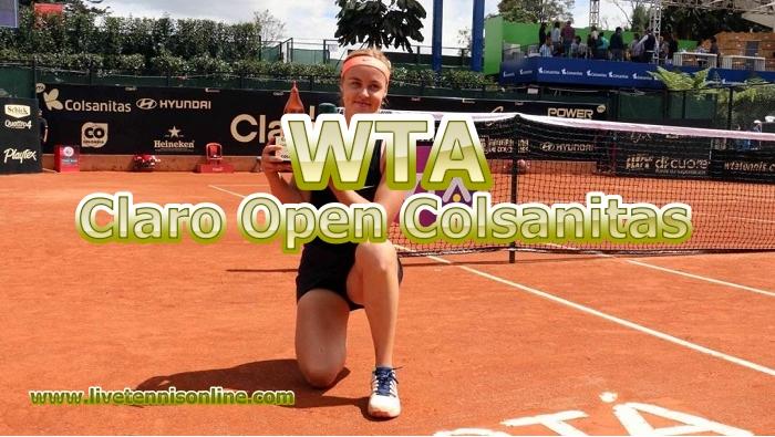 Claro Open Colsanitas Tennis Live Stream