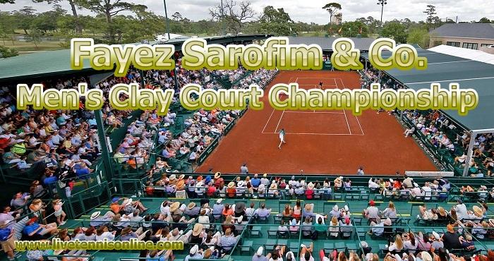 U.S. Men Clay Court Championship Live Stream 2019