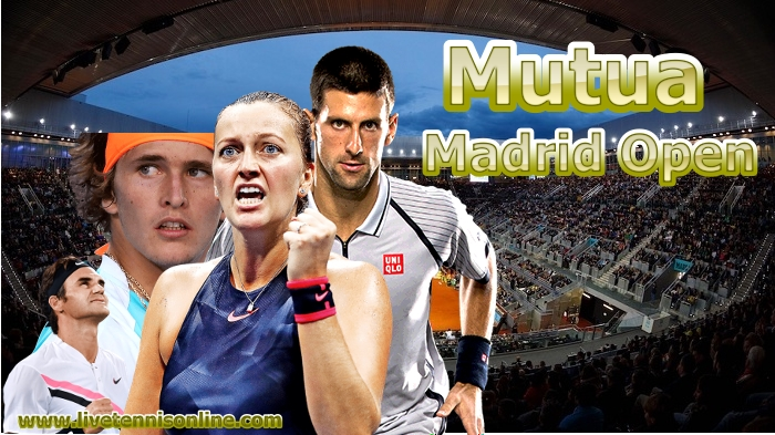 Mutua Madrid Open Tennis Live Stream