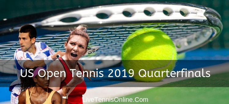 Live US Open Men and Women Quarterfinals