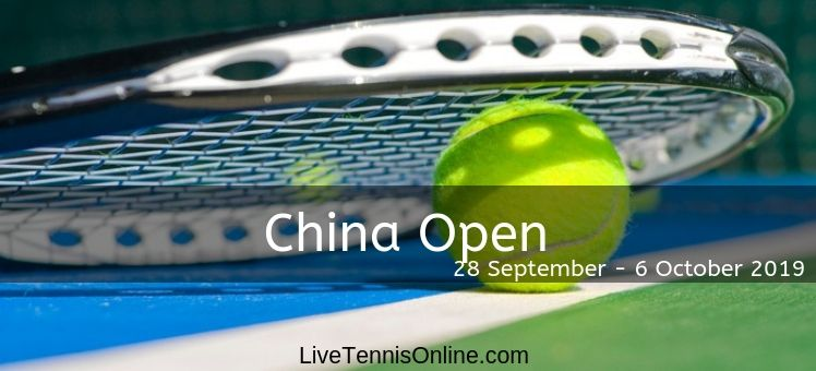 Watch China Open Tennis 2018 Live
