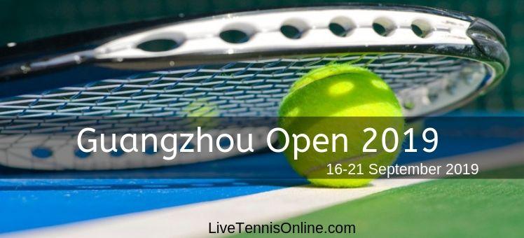 Watch Guangzhou Open 2018 Live