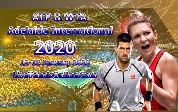 Adelaide International ATP WTA Live Stream 2020
