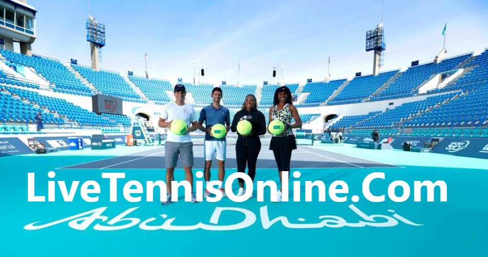 Watch Mubadala World Tennis Championship Free Live Stream