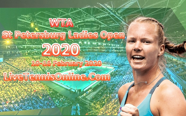 Watch WTA St Petersburg Ladies Open Live