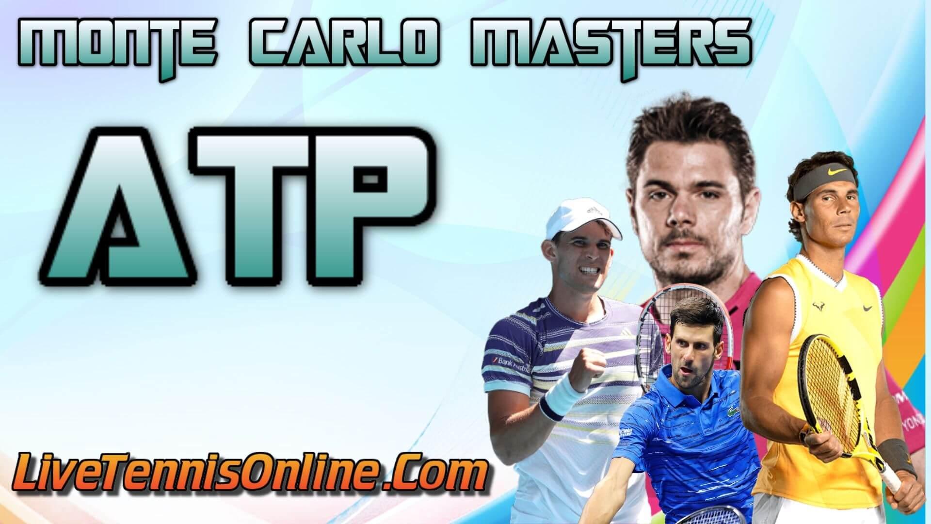ATP Monte Carlo Rolex Masters 2018 Live