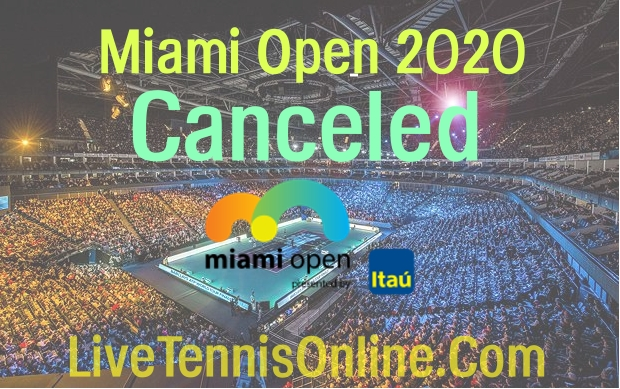Miami Open 2020 Canceled due to Coronavirus Pandemic