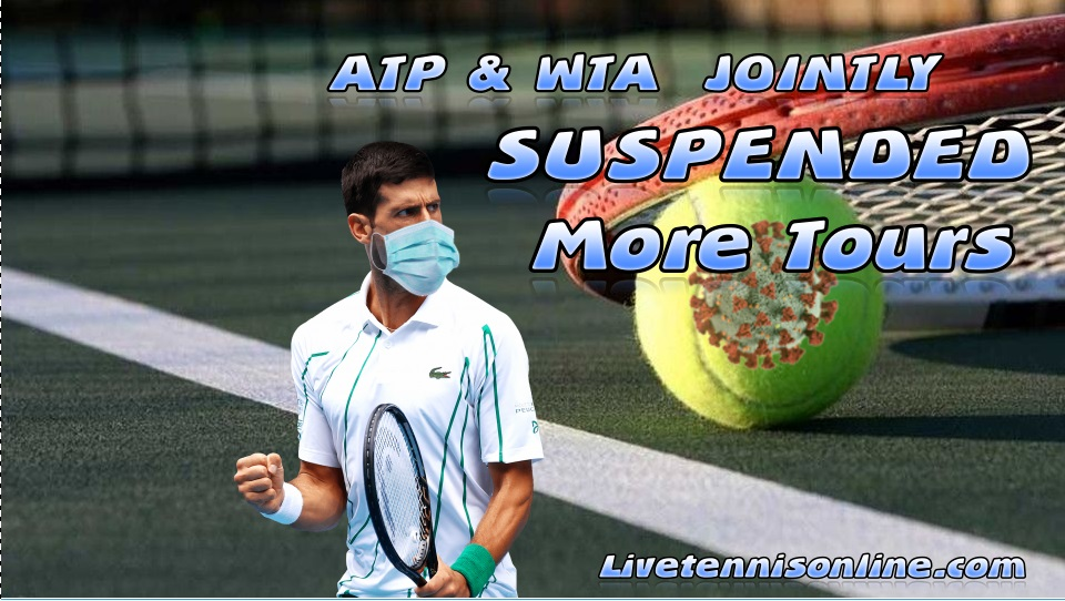 ATP WTA jointly declare to suspend more events
