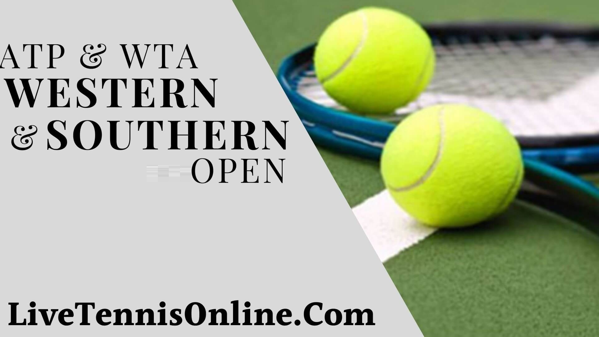 Western & Southern Open 2018 Live Streaming