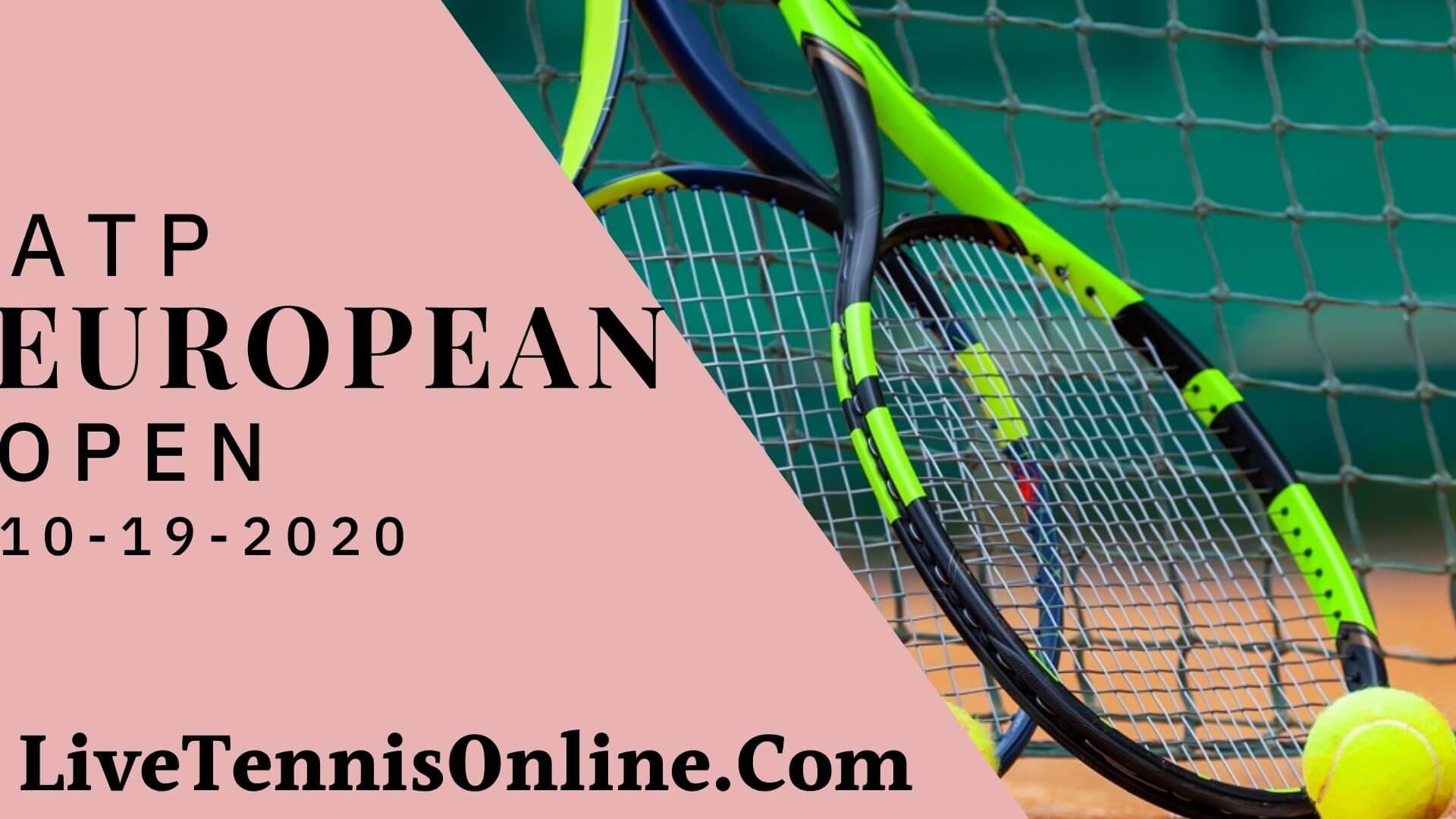 2018 European Open Live Online