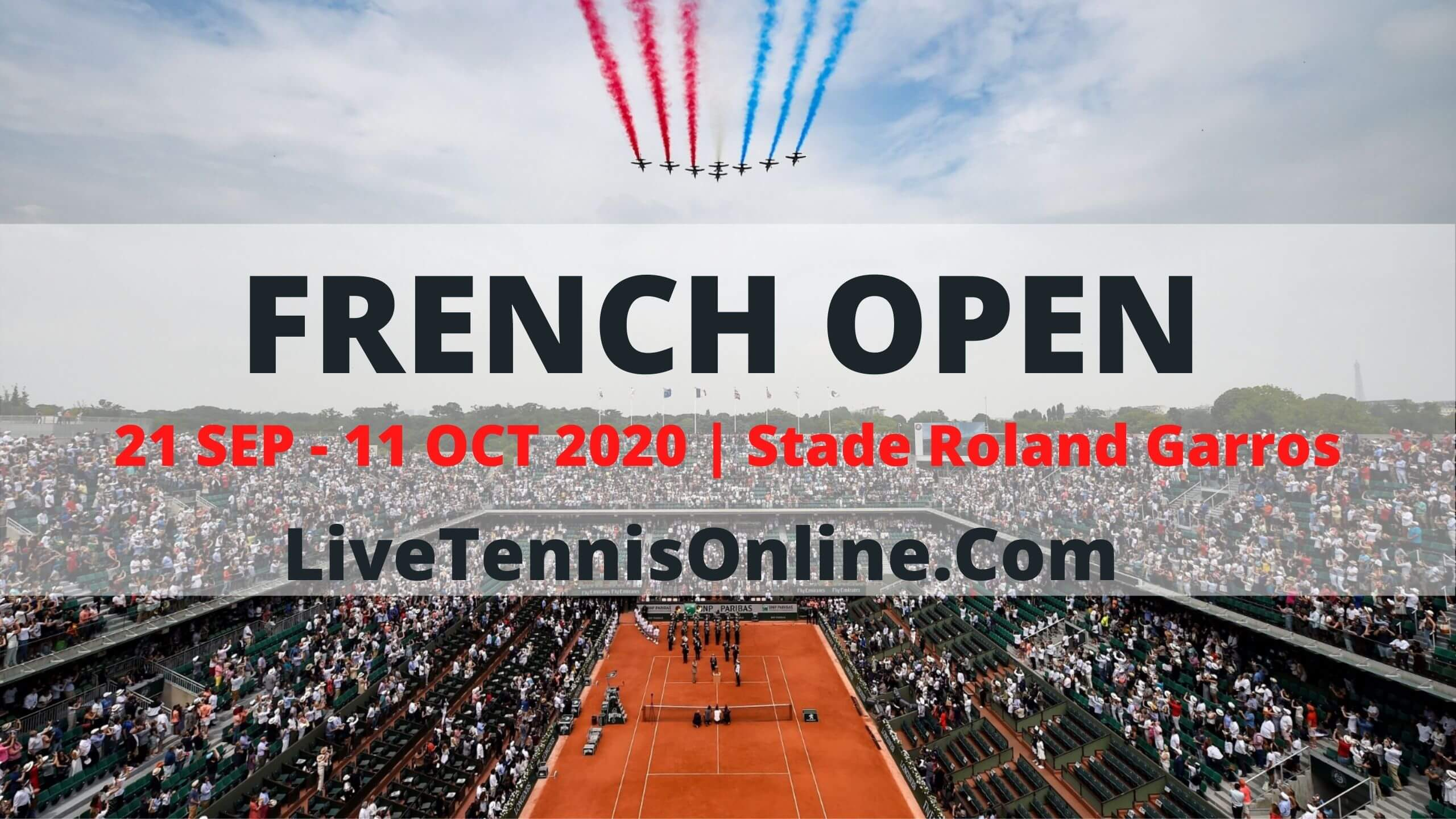French Open 2018 Live Streaming