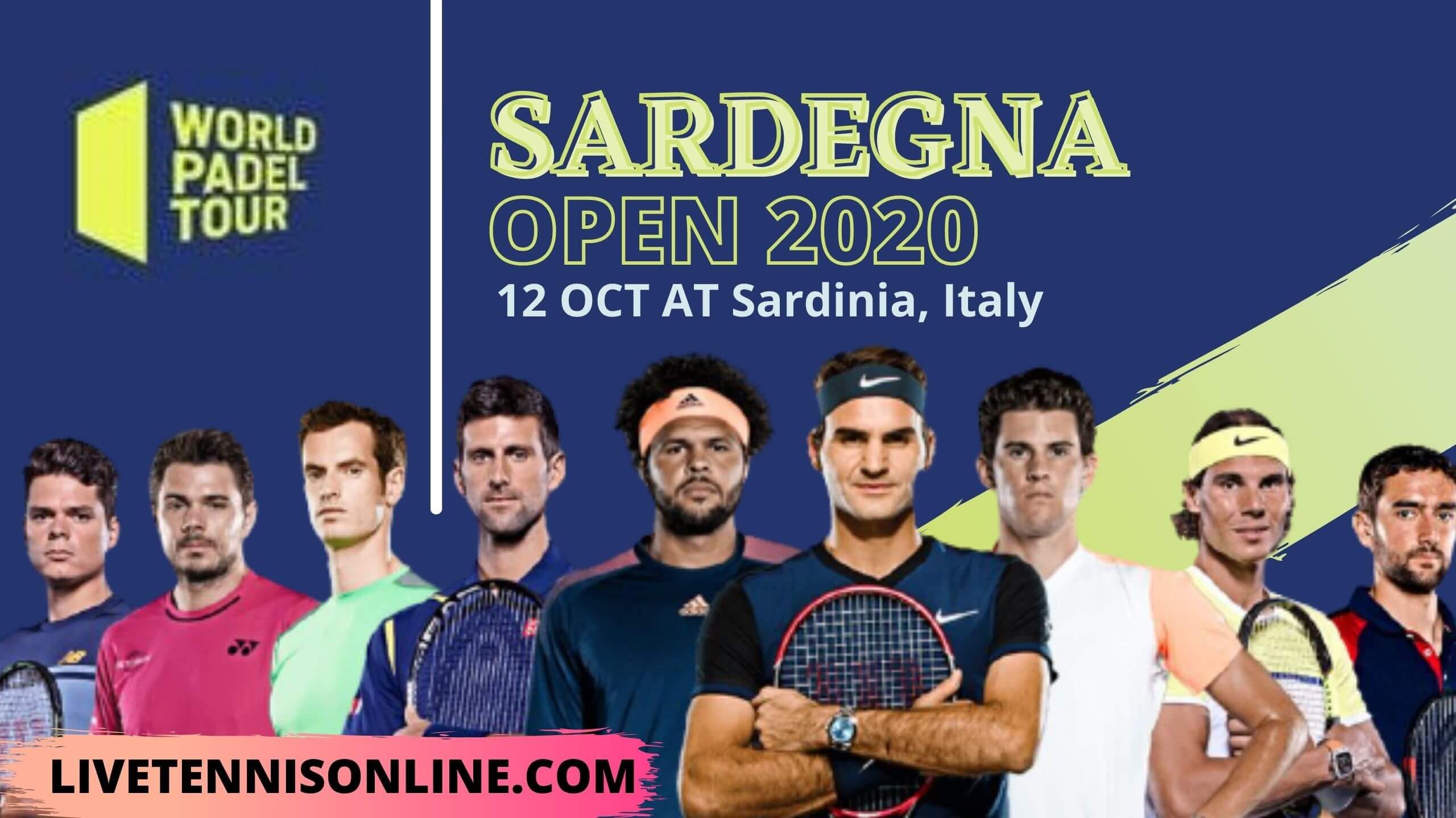 Forte Village Sardinia Open Tennis Live Streaming