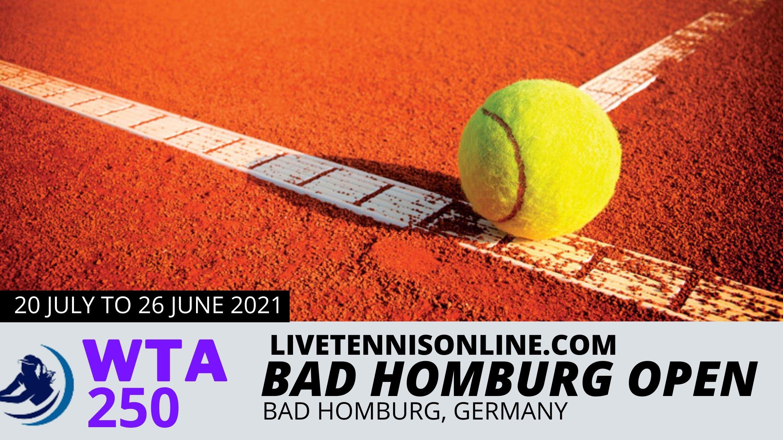 Bad Homburg Open Live Streaming