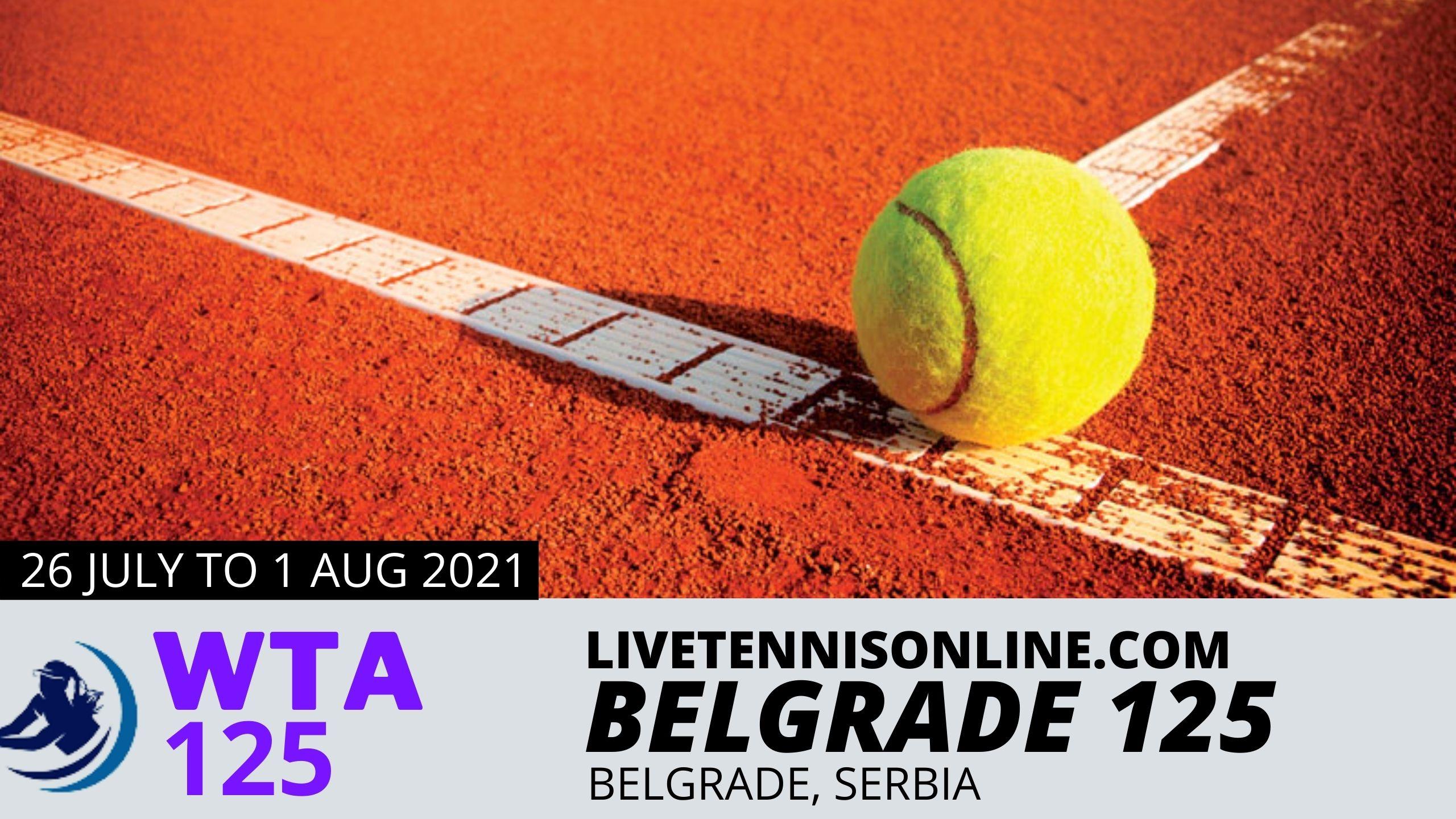 WTA Belgrade Ladies Open Live Stream