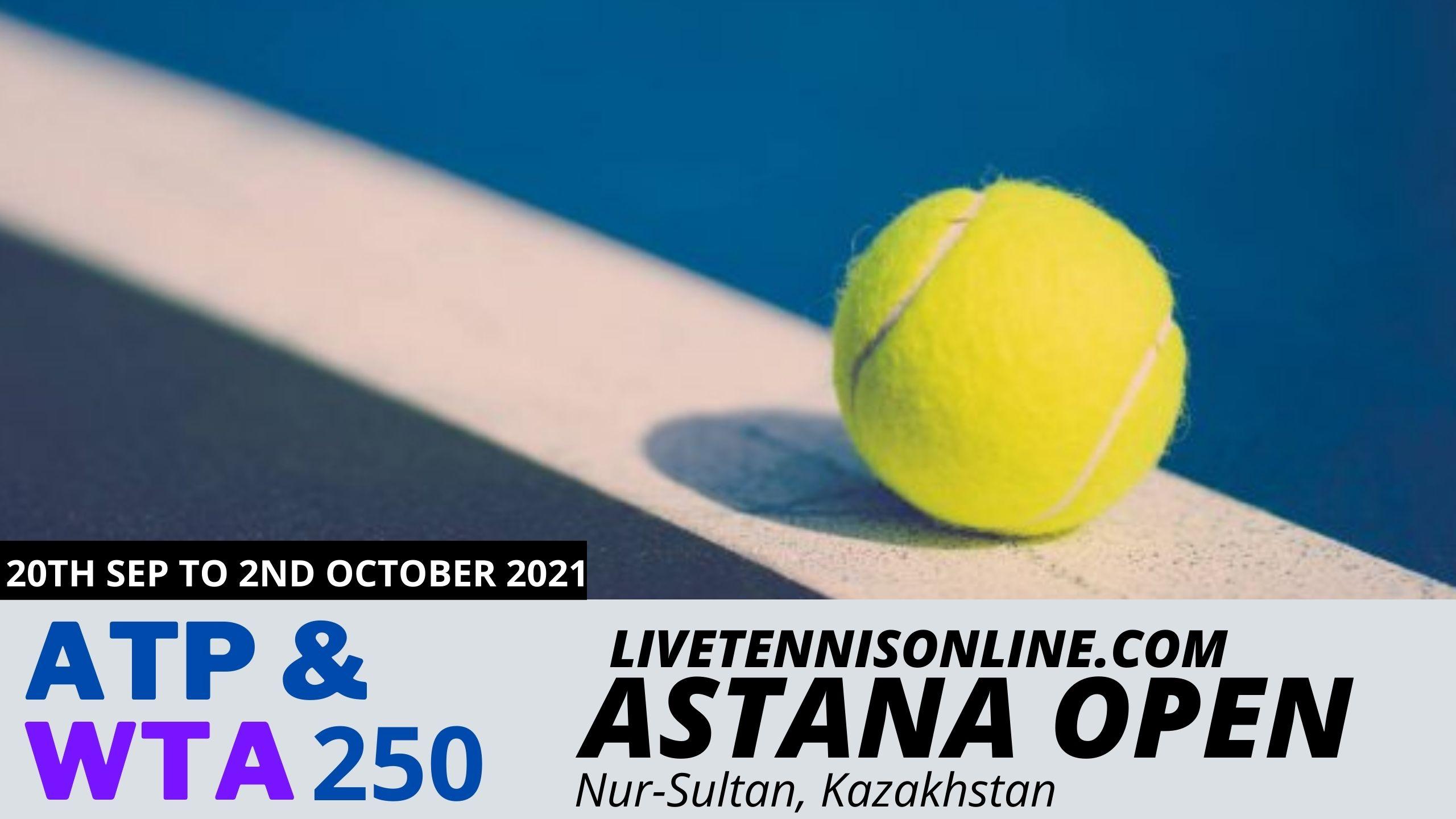 Live Tennis Astana Open Streaming