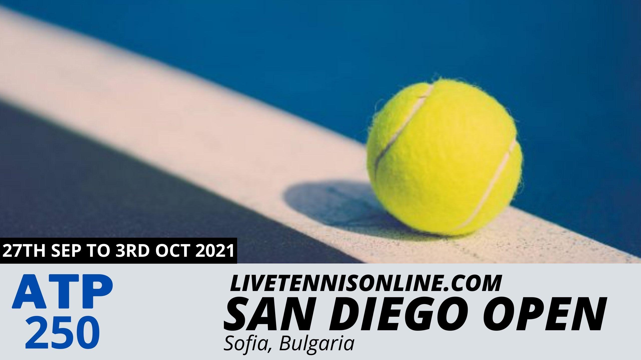 Watch San Diego Open Tennis Live