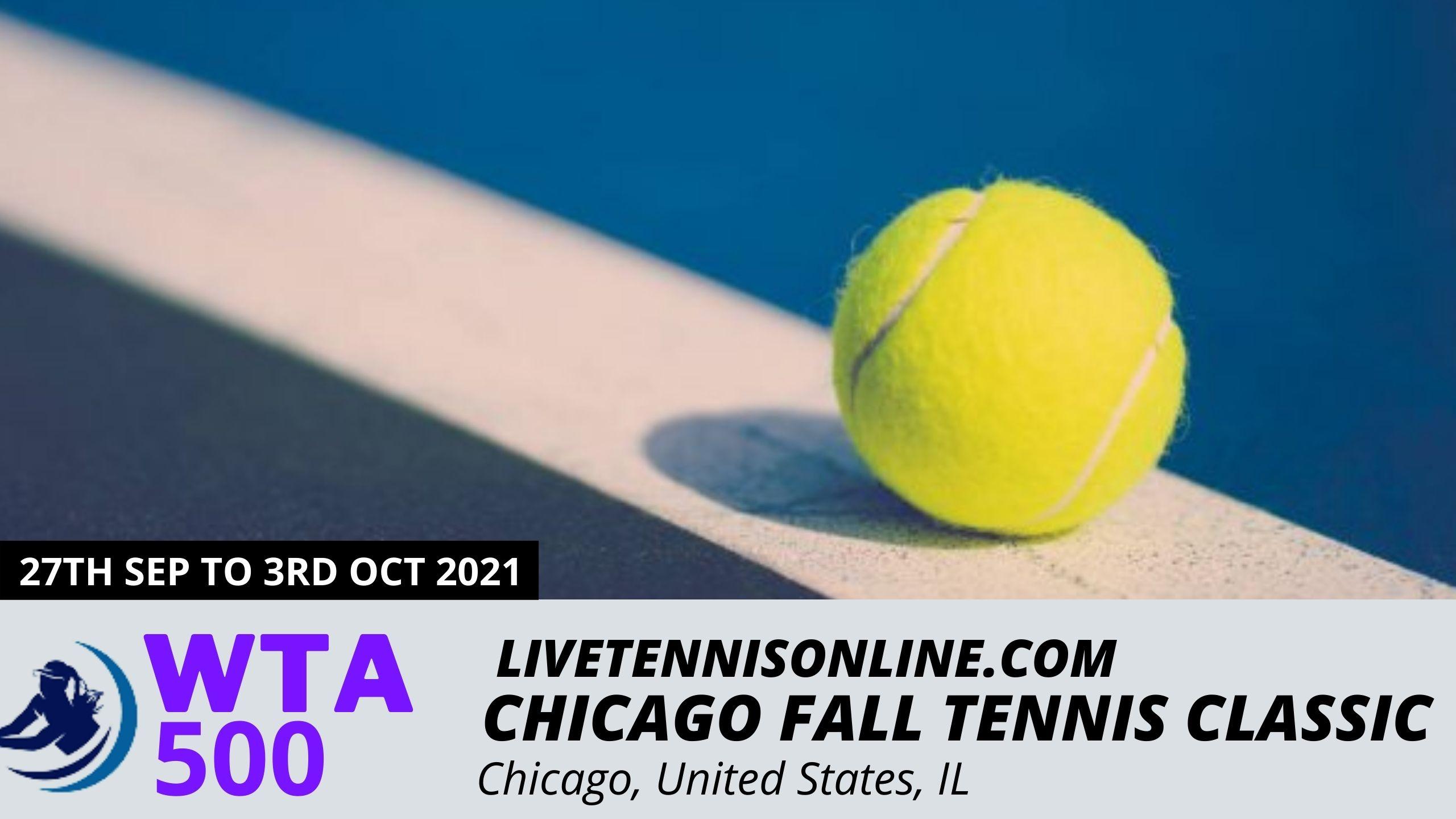Watch WTA Chicago Fall Tennis Classic Live
