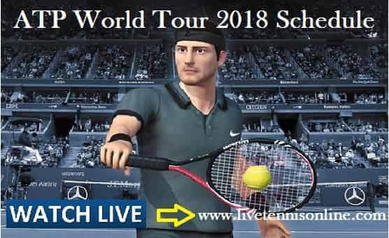 ATP World Tour Tennis 2018 Schedule