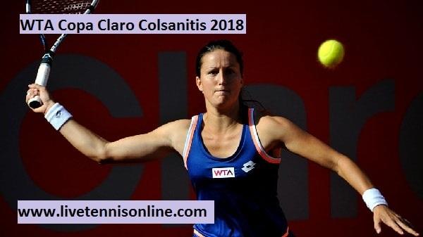 Live WTA Copa Claro Colsanitis 2018 Online
