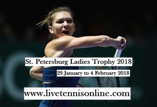 WTA St. Petersburg Ladies Open 2018 Live Stream