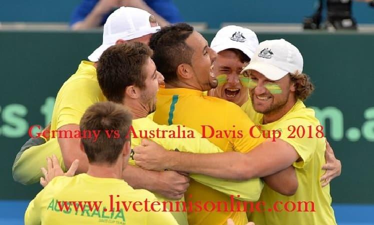 Watch Germany vs Australia Davis Cup Live