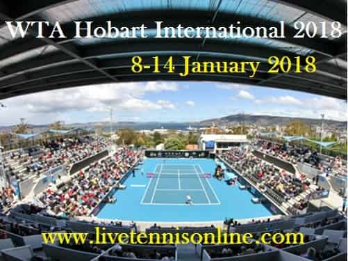 Watch WTA Hobart International 2018 Live