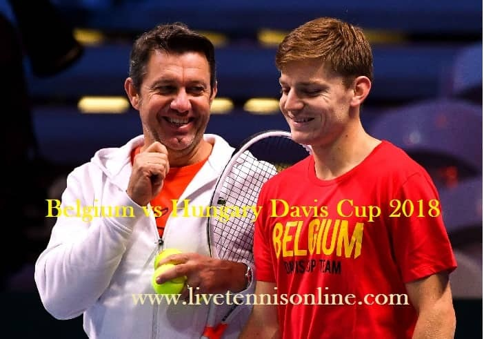 Watch Belgium vs Hungary Davis Cup Live