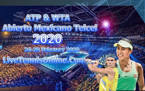 Mexican Open 2020 Doubles Live Stream | Quarter-final