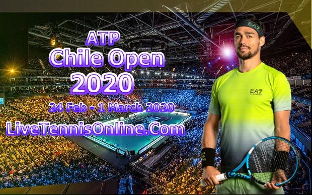 Chile Open 2020 Singles Live Stream | Quater Final