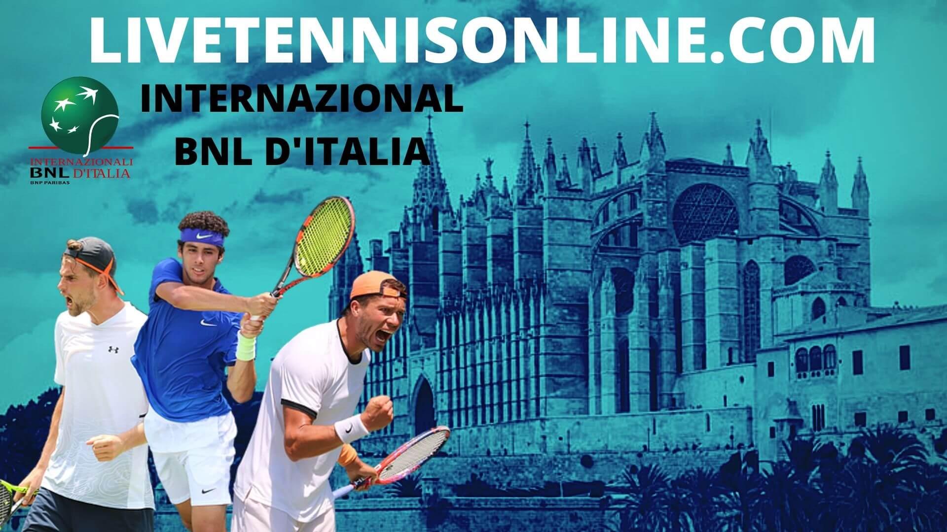 Internazionali BNL d Italia Live Stream 2020 | Day 3