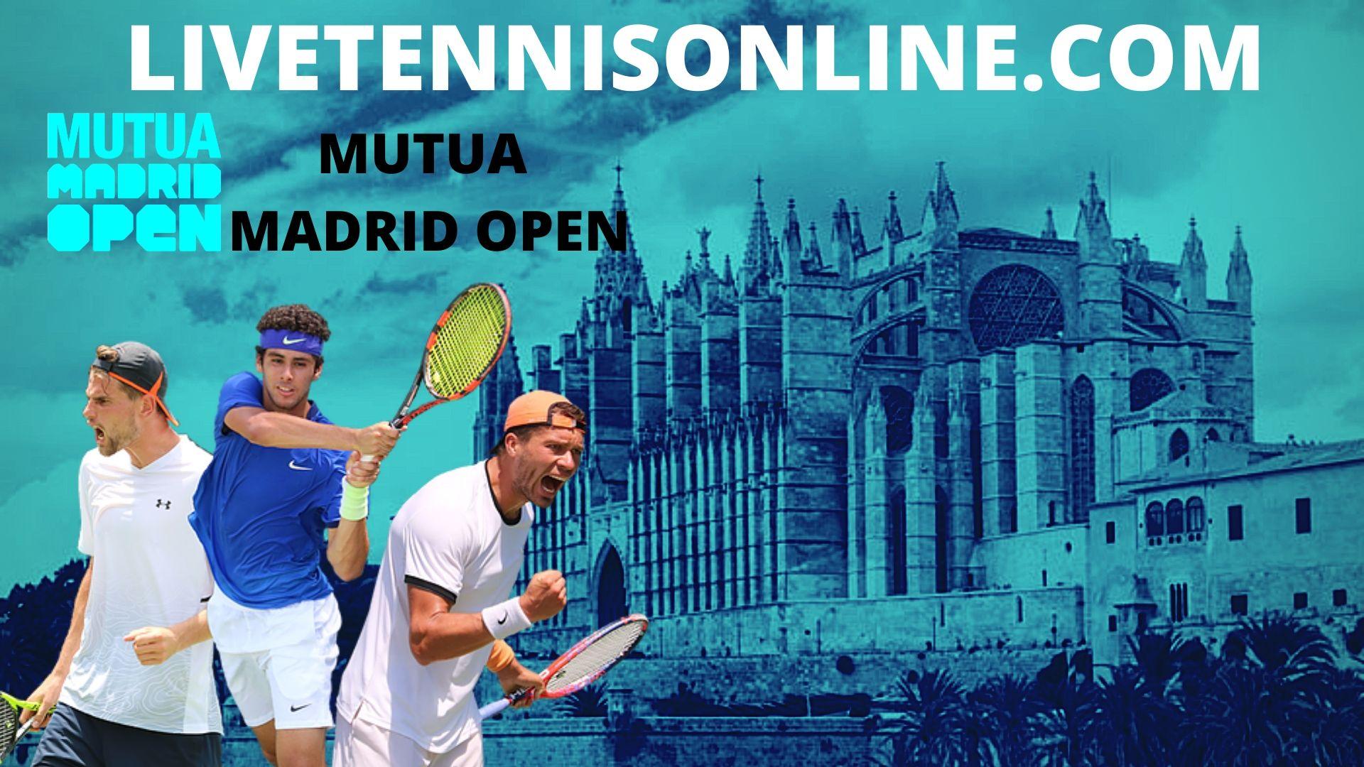 Madrid Open Live Stream 2020 | ATP Day 5