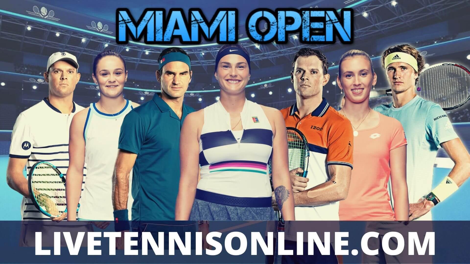Miami Open Suspended 2020 | Semi Final
