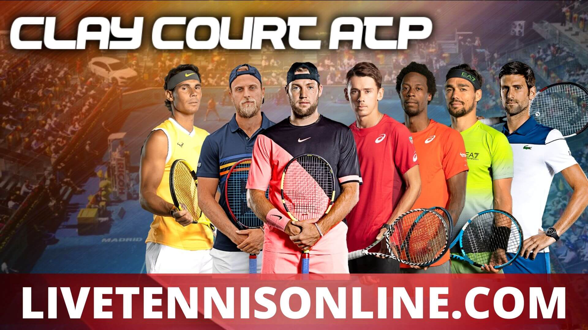 Clay Court Championships Suspended 2020 | ATP  Day 1