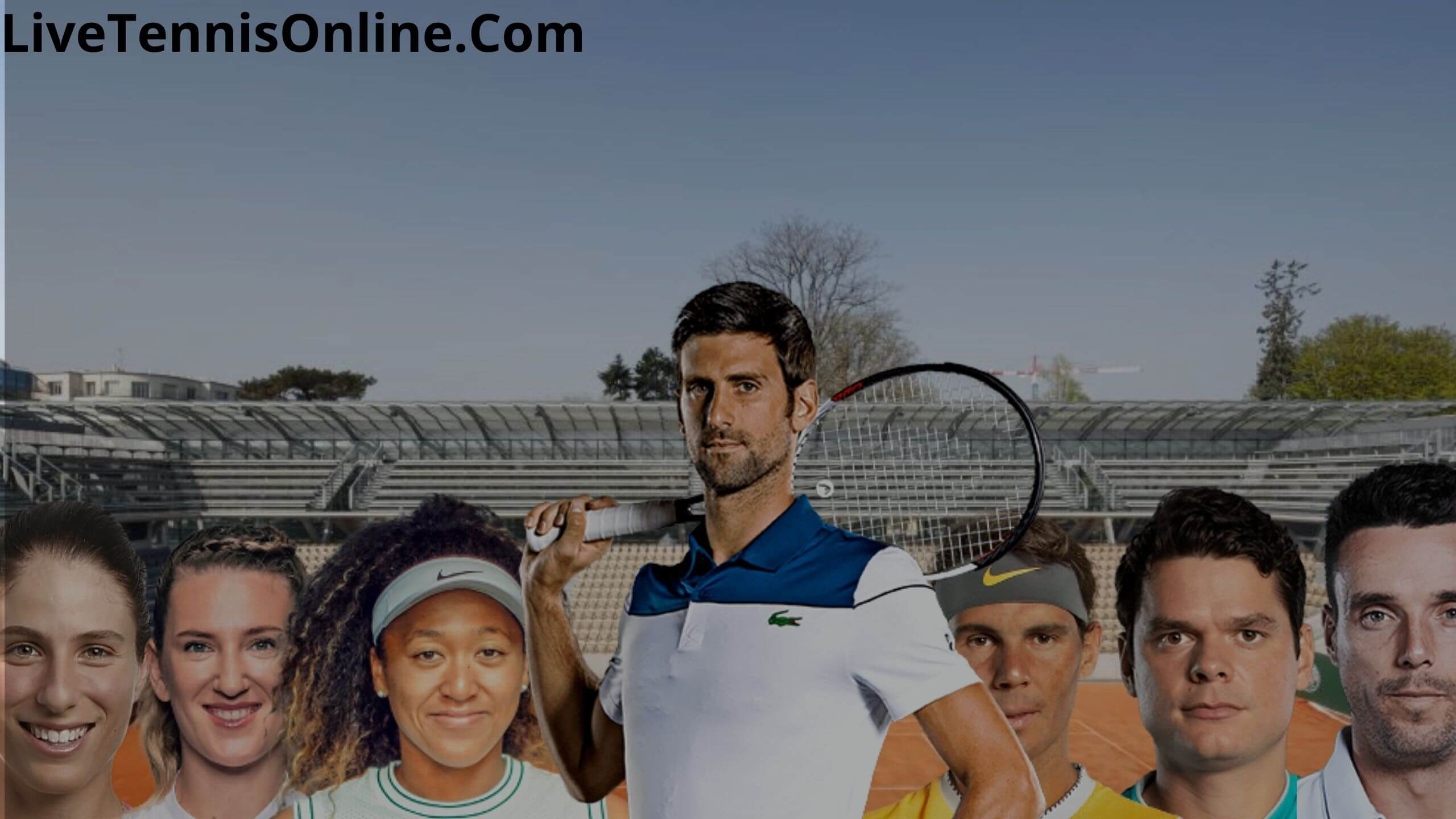 Grand Slam French Open Live Stream 2020 | Day 1