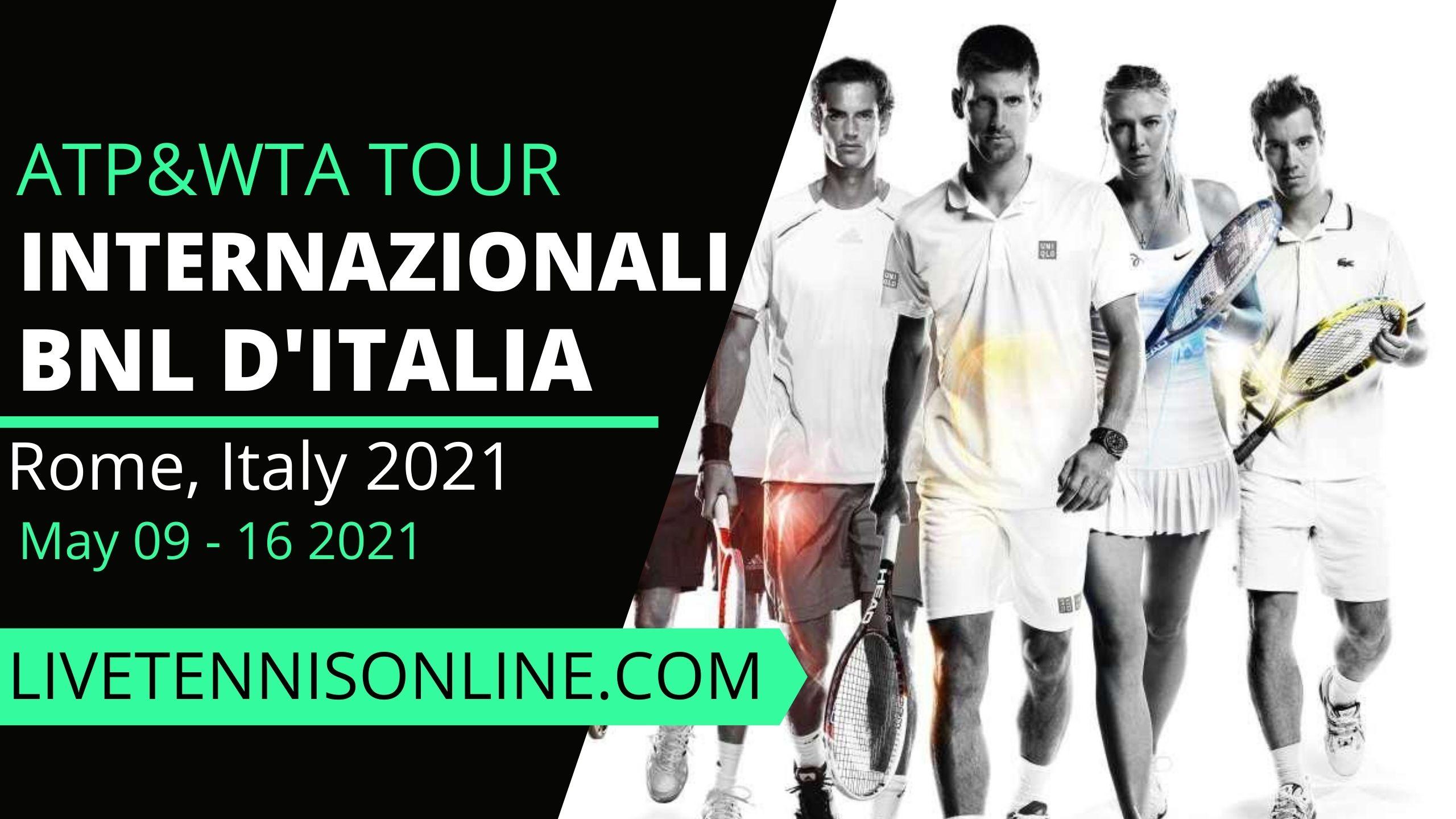 Italian Open 2021 Live Stream | Final