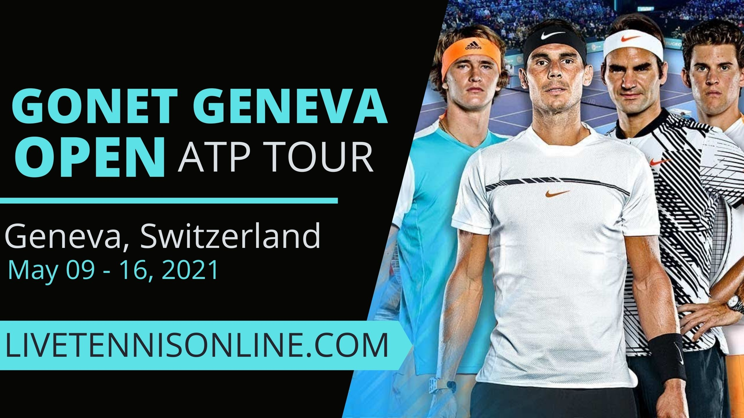 Geneva Open Live Stream 2021| Day 1