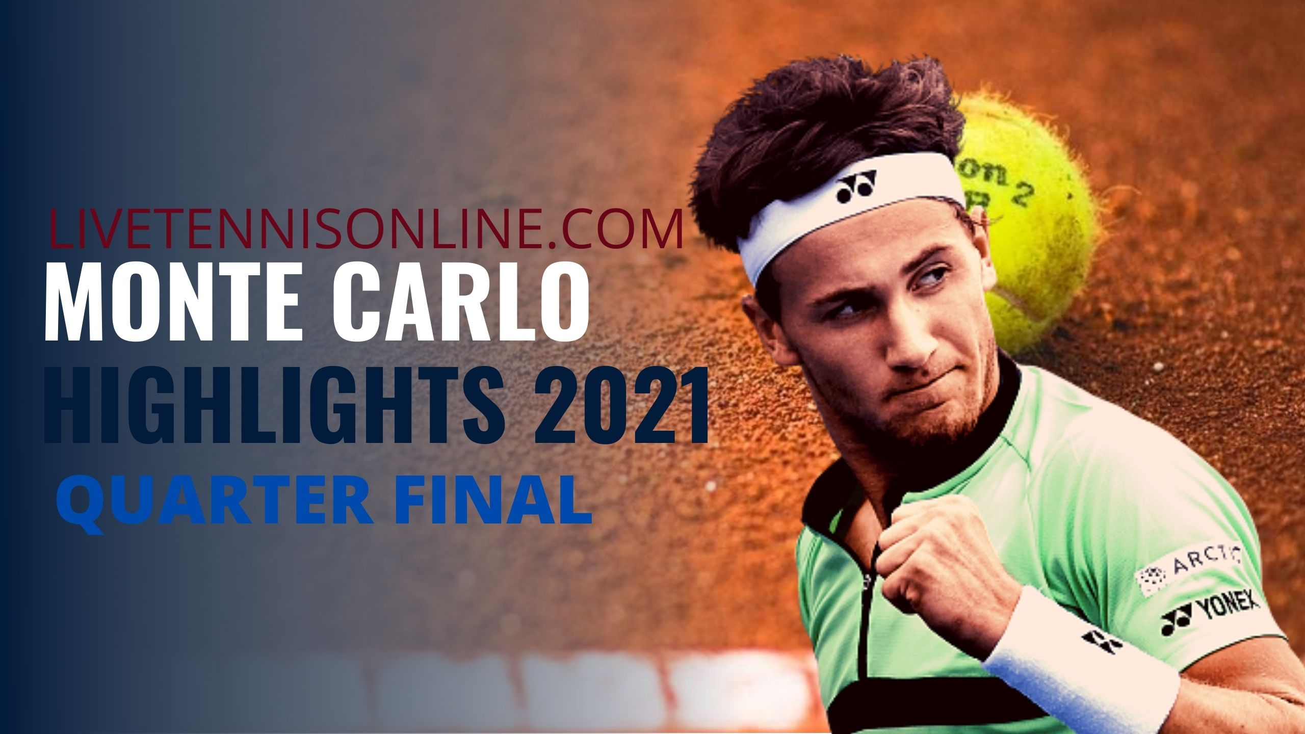Ruud Vs Fognini Quarter Final Highlights 2021